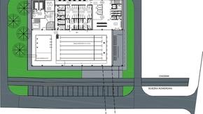 Koncepcja budowy basenu i zagospodarowania terenu przy Zespole Szkół im KOP w Szydłowcu