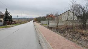 nowy chodnik w Rogowie