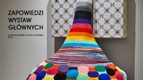 Zapowiedzi wystaw głównych Centrum Rzeźby Polskiej w Orońsku w 2019 roku.
