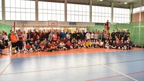 Zdjęcie grupowe uczestników turnieju.