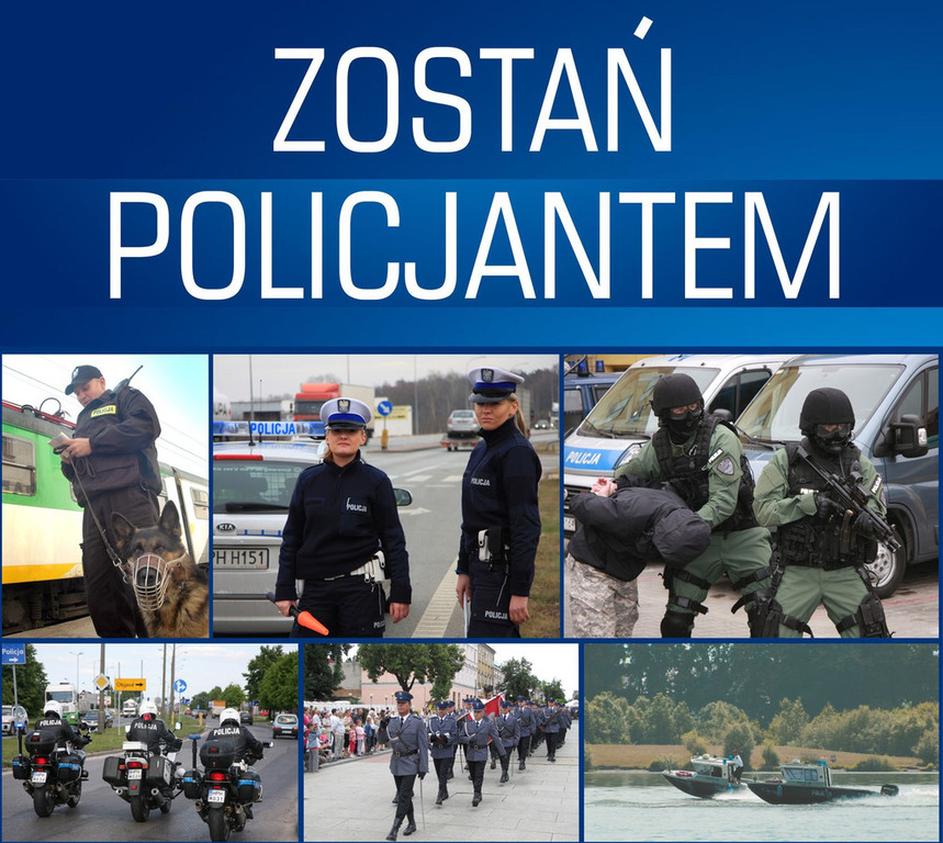 Zostań Policjantem - plakat