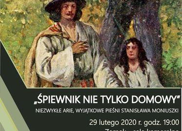 Śpiewnik nie tylko domowy - pieśni Stanisława Moniuszki