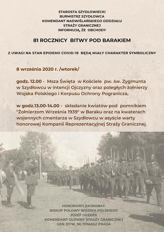81 Rocznica Bitwy pod Barakiem