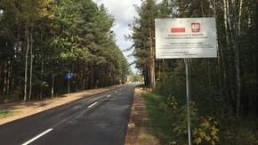 droga powiatowa nr 4018W Szydłowiec-Majdów - gr. województwa na długości 1809 m