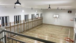 sala gimnastyczna po gruntownym remoncie