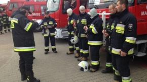 Zbiórka strażaków