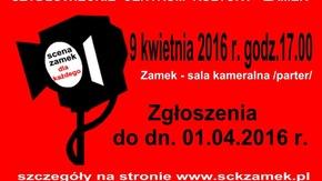 plakat informacyjny dotyczący imprezy
