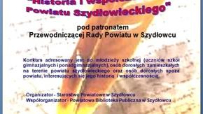 plakat informacyjny konkursu