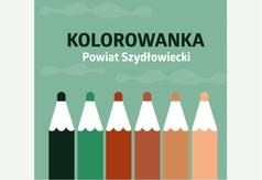 okładka książki: Powiat Szydłowiecki. Kolorowanka