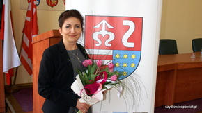 Przewodnicząca Rady Powiatu w Szydłowcu Anita Gołosz