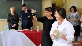 Pierwszy Powiatowy Konkurs Chemiczny w ZS im. KOP w Szydłowcu