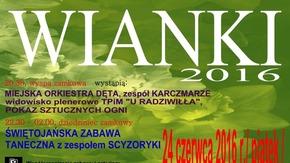 Plakat Wianki 2016