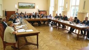 obrady rady powiatu