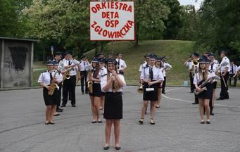 O tym, że w orkiestrach dętych drzemie jakaś siła mogli przekonać się wszyscy, którzy w niedzielę