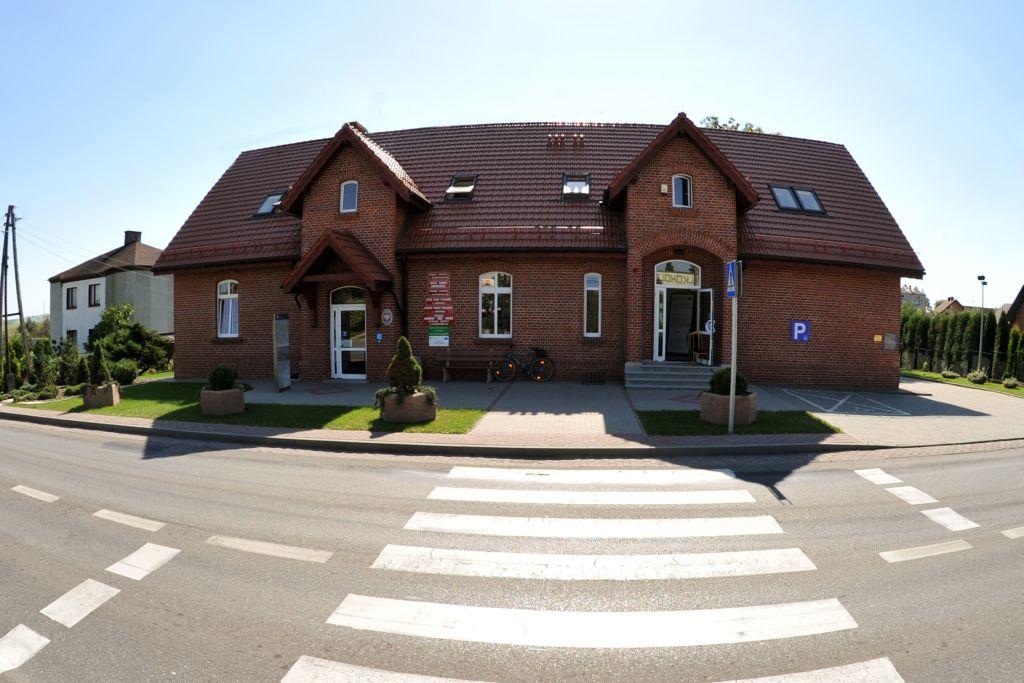 Budynek Urzędu Gminy w Kornowacu