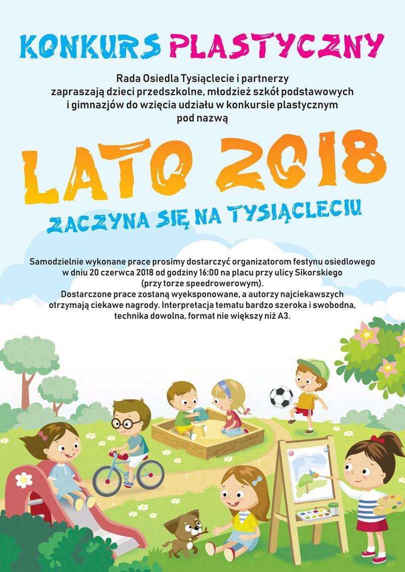 Festyn na Osiedlu Tysiąclecie - konkurs