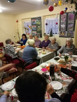 Spotkanie Wigilijne dla seniorów