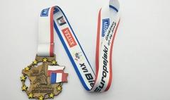 Medal XVI Biegu Europejskiego (link otworzy duże zdjęcie)