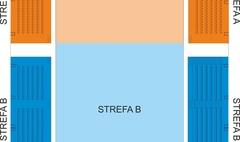 Schemat podziału hali na strefy A i B (link otworzy duże zdjęcie)
