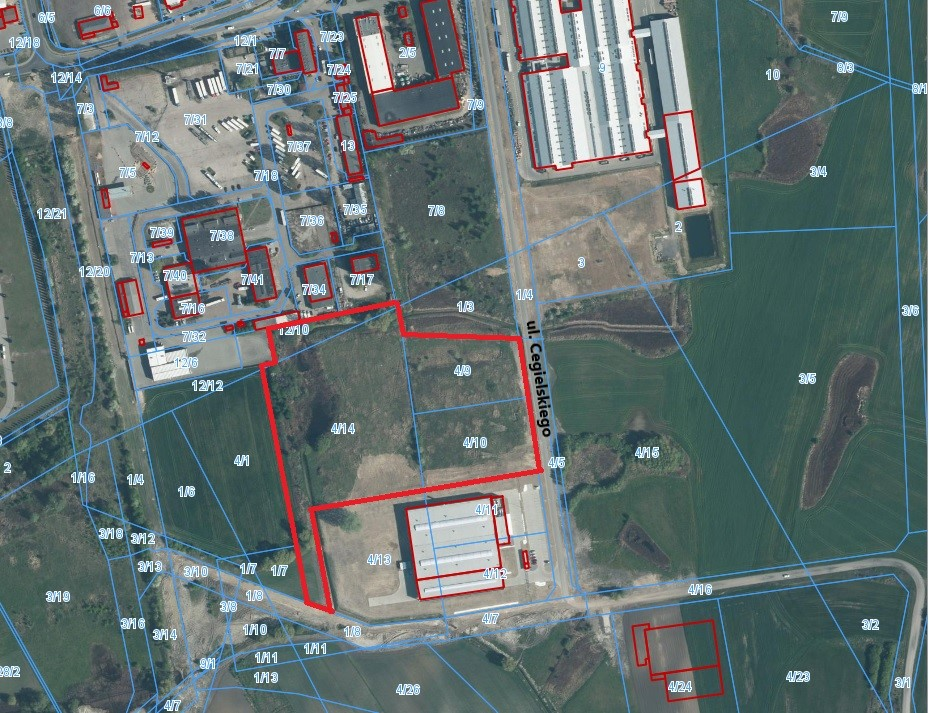 Firma Kirchhoff kupiła kolejne nieruchomości (link otworzy duże zdjęcie)