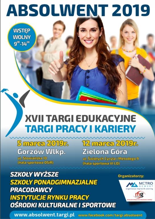 Targi Edukacyjne Absolwent 2019 (link otworzy duże zdjęcie)