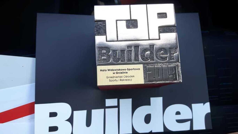 Gnieźnieńska hala z nagrodą Top Builder 2019 (link otworzy duże zdjęcie)