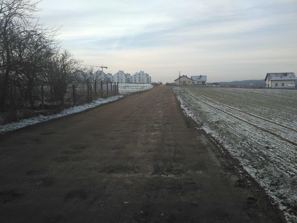 ulica Tczewska w Rokitkach