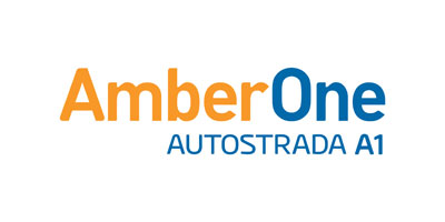Logo Amber One - Autostrada A1