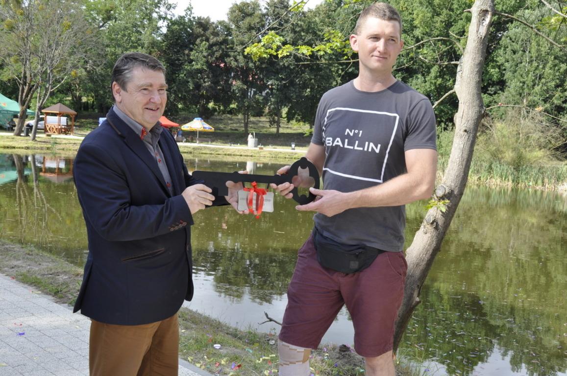 Uroczyste otwarcie terenu rekreacyjnego w Boroszewie