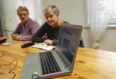 Warsztaty komputerowe w Domaniowie (link otworzy duże zdjęcie)
